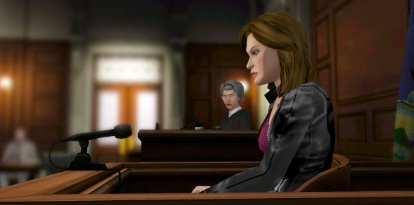 I don't understand a courtroom that doesn't have ghosts and point-haired shouty men.