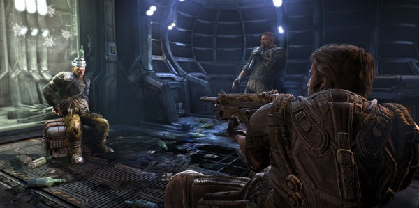 Guns: They're sort of like translators that only know one word