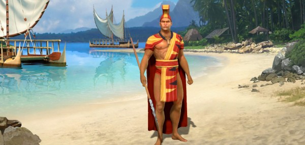 Say what you like about ancient Polynesian leaders, they literally knew how to dress.