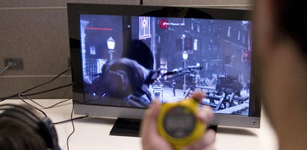 Is that a stopwatch? How hardcore is Eidos Montreal's playtesting division?