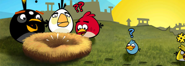 Angry internet birds. Like angry internet men, but birds.