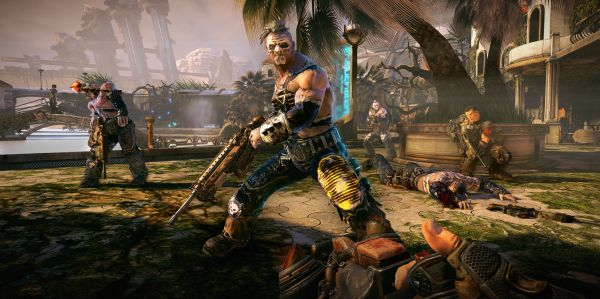 Someone's been eating our Bulletstorm images.