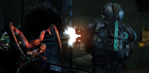Oh dear, I couldn't tell the difference between the Dead Space 2 shot and the RF Armageddon shot. GAMES!