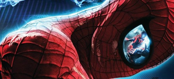 Oh my God there's a TINY MAN INSIDE SPIDER-MAN'S HEAD