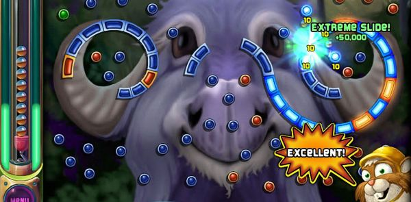 It's my day off, I'm not going to mock up a Peggle 2 logo on my day off.