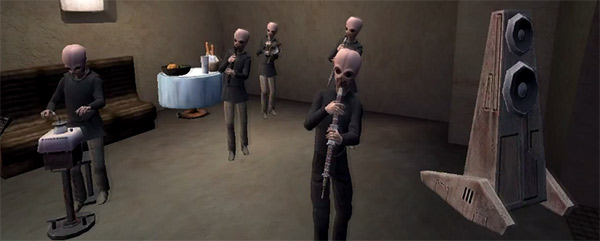 I'd be entirely happy to have the Mos Eisley cantina band play out as the world ends