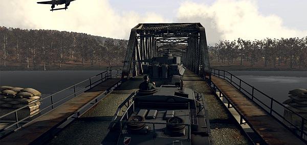 A bridge to war