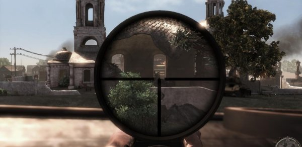 Caught in the crosshair. That could be a visual metaphor, couldn't it? Gosh. Clever.