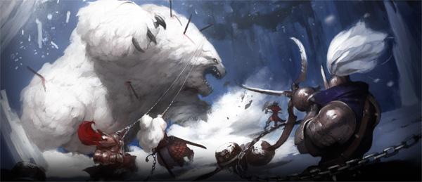 A polar bear is never your friend.