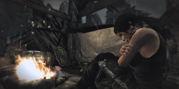 Challenges Lara will be forced to overcome: cultists, pirates, the elements, the sniffles.