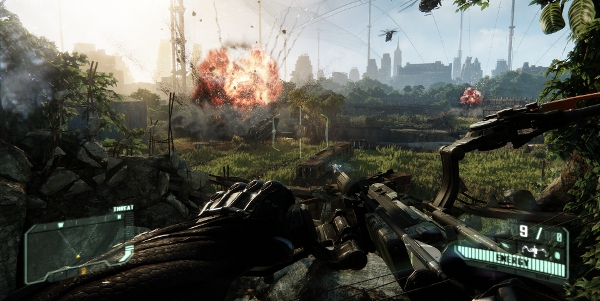 Crysis 3: starring The Bow and What's-His-Face, holder of The Bow.