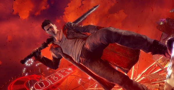 If Dante ever poses in a way that could be considered practical or camera-friendly, that's when we'll know Capcom's truly lost sight of what the series is all about.