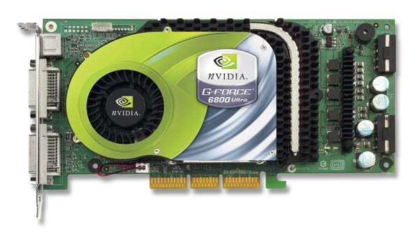 GeForce 6800 Ultra: 16 pipes and silly money
