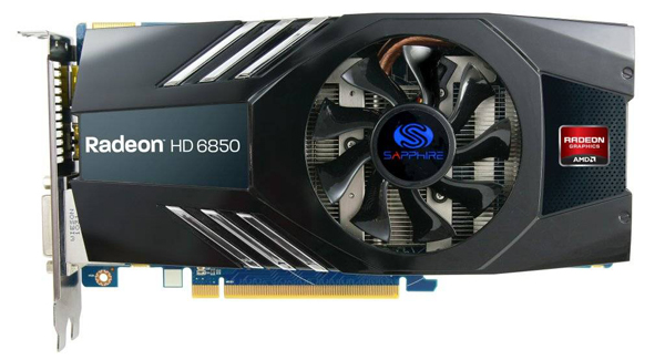 Parsimonious pixel pumper: A Radeon HD 6850 is one hell of a card for £100
