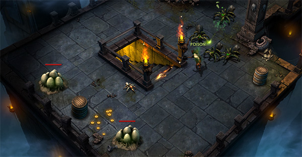 Actually it's a bit darker than Diablo III, so those 'WoW gheyness' moaners might prefer it
