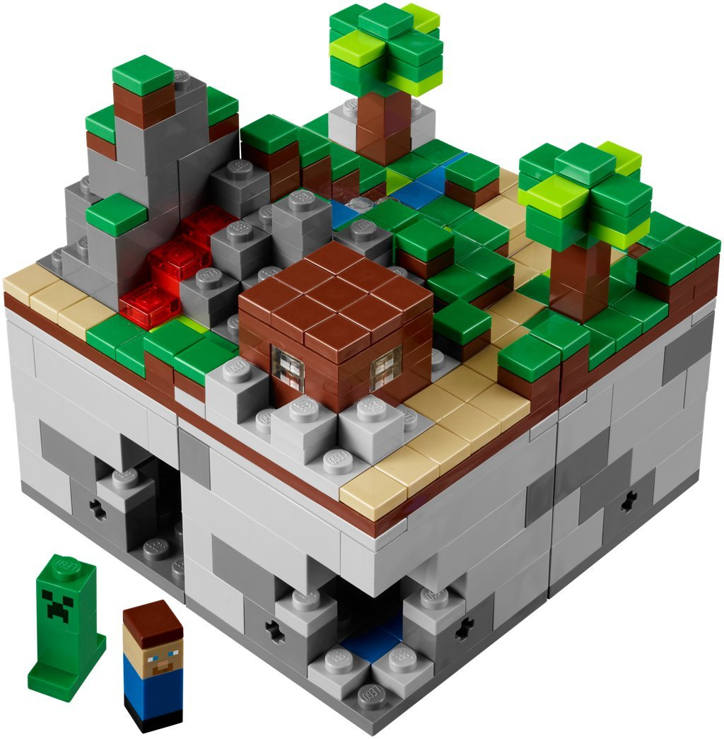 Just Lego Lego Minecraft Is A Real Thing Rock Paper