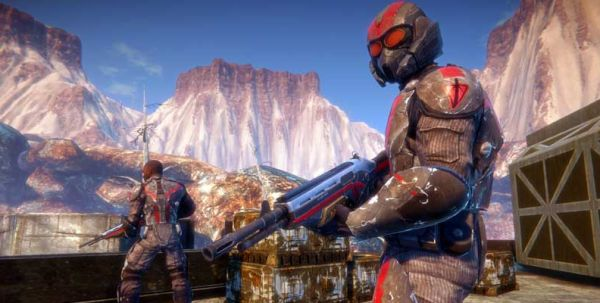 Oh, hello there, let me introduce you to the magical world of PlanetSide 2.