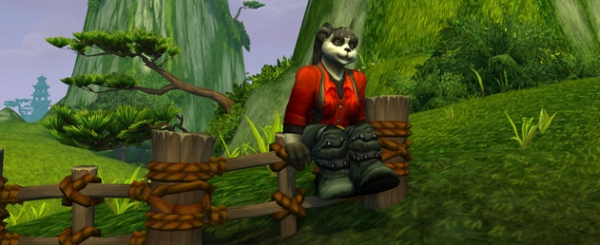 I wish Adorable Panda Sitting On A Fence was a class. I'd totally play one.