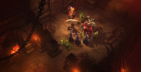 I was genuinely amazed with the writing in Diablo III. Amazed. It was almost like they were scared of being entertaining.