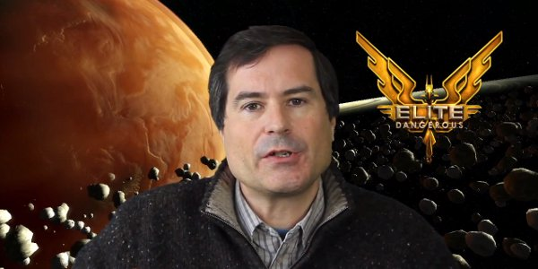 Hopefully, a giant, planet-sized David Braben will not be part of the UI at all times in the final version.
