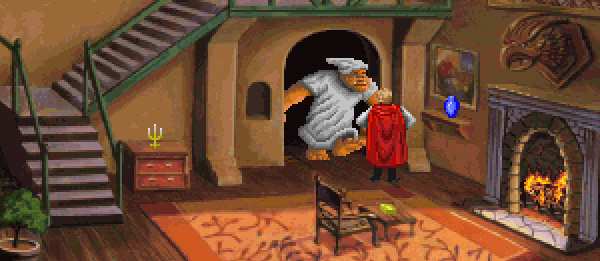 The Thief always did seem a little weird in the Quest For Glory series. I'm not saying those stealth skills and such can't be used for good. It's just odd to earn the startup cash you need to save the world by knocking over an old lady's house and cleaning out the Sheriff's place.