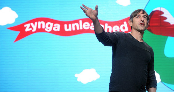 Lovely friendly smiley Zynga boss Mark Pincus OH WAIT