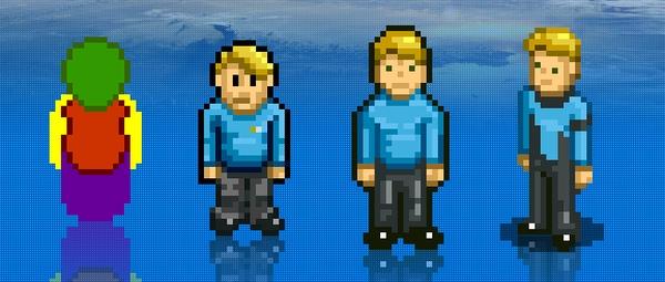 Cute lil space captains