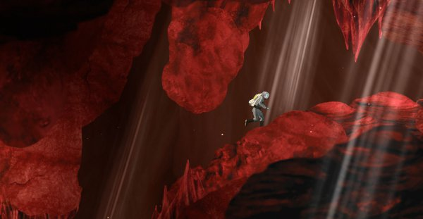 Exploration log, day 753: I think I might be nearly ready to unveil my theory that mars is made of red stuff.