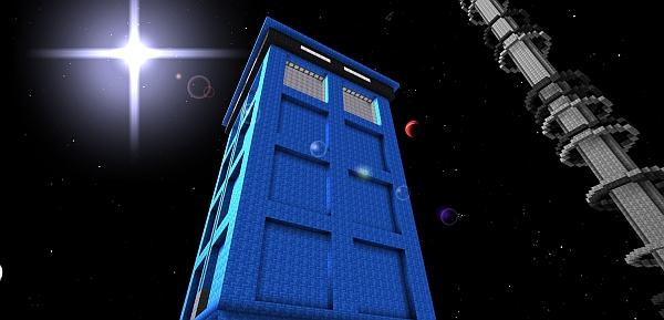 As an admin, I reserve the right to spawn a Tardis whenever I choose to.