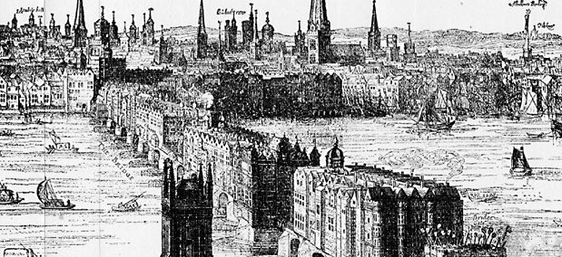 Visscher's London, 1616