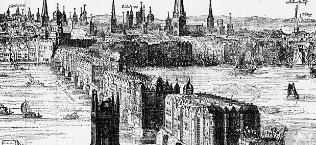 Visscher's London, 1616