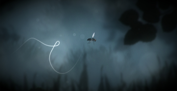 Oddly, this game about a fly that looks somewhat like Limbo contains significantly fewer horrifying spider appendages than Limbo. Go figure.