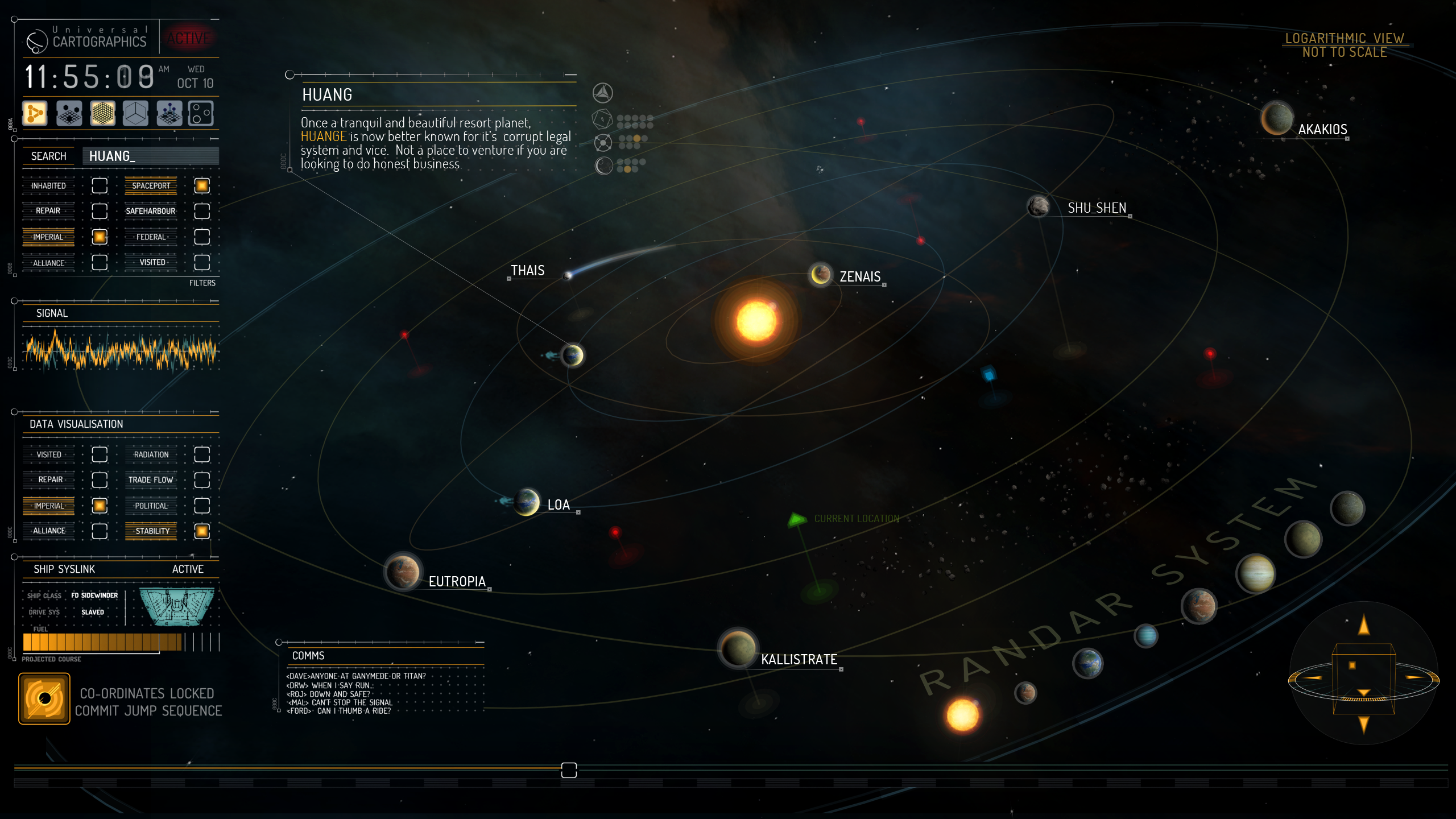 firefly solar system map - photo #25