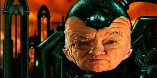 He always had a weird squashy-head that guy on Gamesmaster
