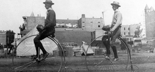 Screenshot borrowed from Penny Farthing Simulator 1876