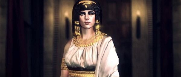 Cleopatra, comin atcha. Except in this scenario the Egyptians are defending.