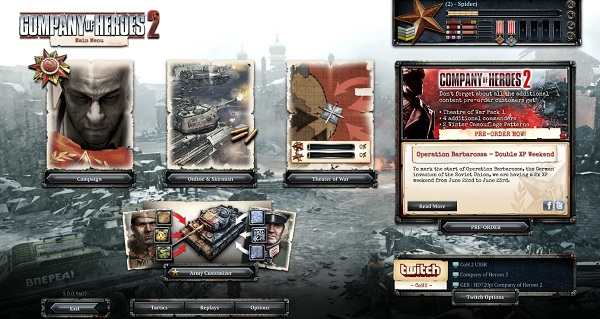 Coh 2 Case Blue : Company of heroes theater of war challenge case blue dlc kharkov