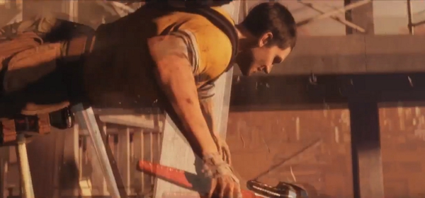 If you play it in reverse, it's actually just the Dead Island trailer again.