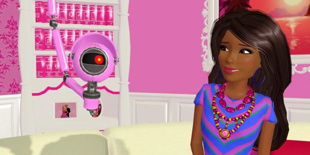 barbie dream house video game