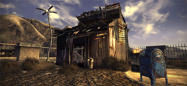 that's just New Vegas running SweetFX, before you get your knickers in a twist