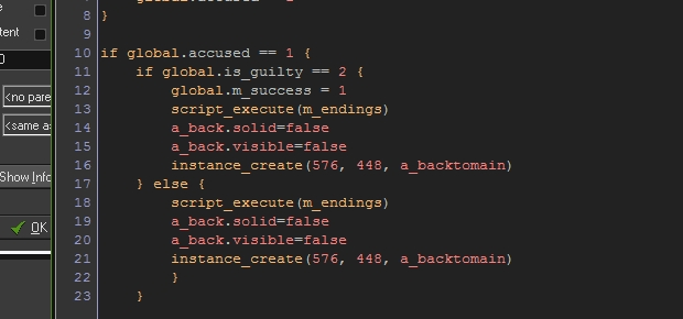 You can muddle through even with crap code like this.