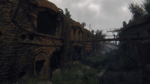 I really just want to explore this place - not scamper around it while shooting people. I mean, how will I even cling frantically to my safety blanket if I'm holding a gun the whole time?