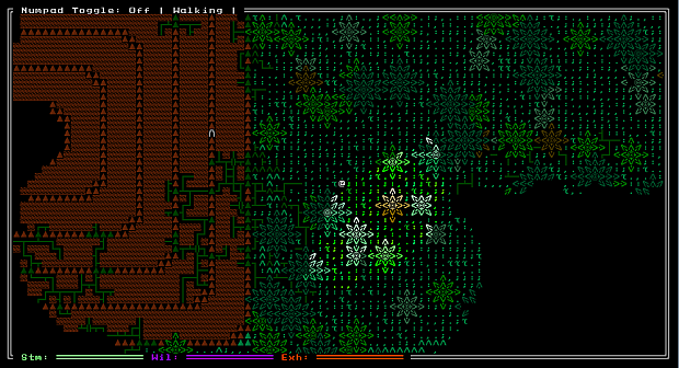 ANSI is an expanded ASCII tileset.