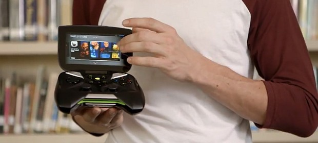 Literally just a 360 controller with a screen taped on.