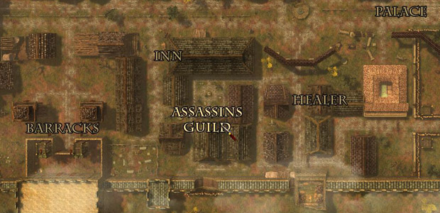Any town where the assassin's guild is bigger than the guard barracks is trouble.