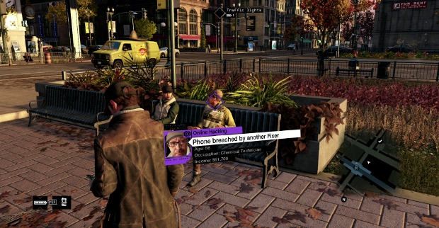 Watch Dogs scratches YOU behind the ear. With bad dialogue.