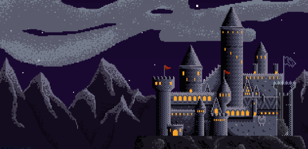 All wizard's live in castles; it's a well known fact.