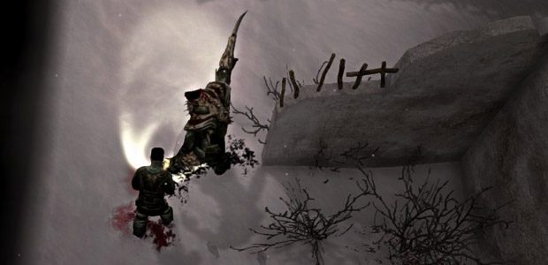 I brought an axe to a giant arm-spike fight.
