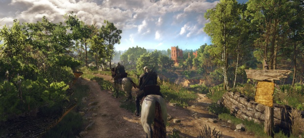 The Witcher 3 promises to be 'shaggy' in more ways than one.