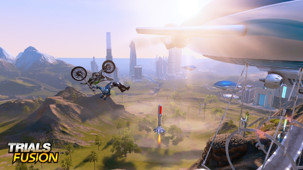 Finally, a game in which bikes ride men - not the other way around